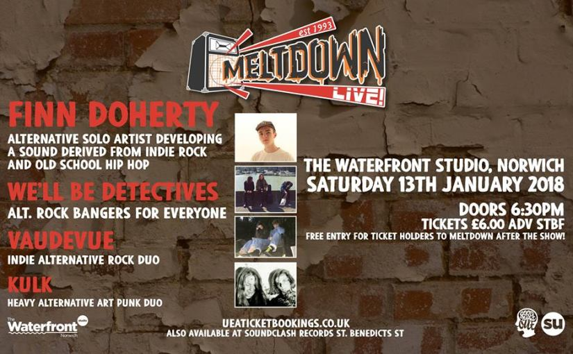 Cracking night of local music coming to theWaterfront!