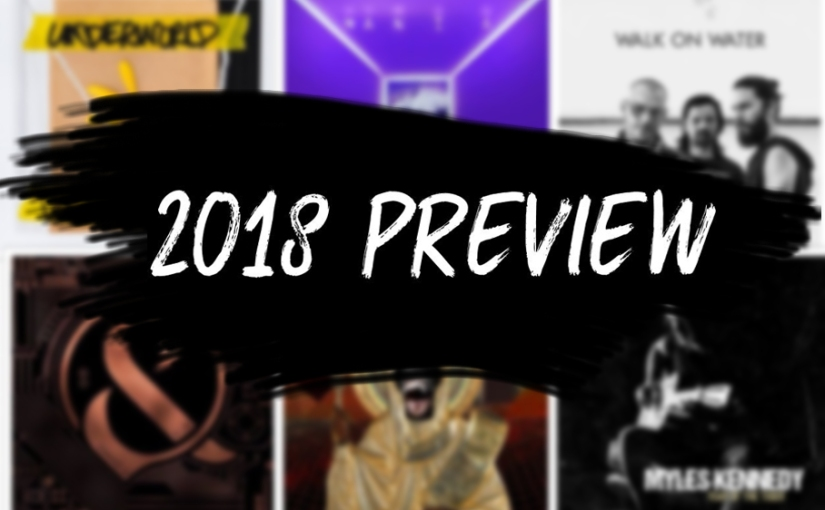 2018 Preview – Top albums due to come out