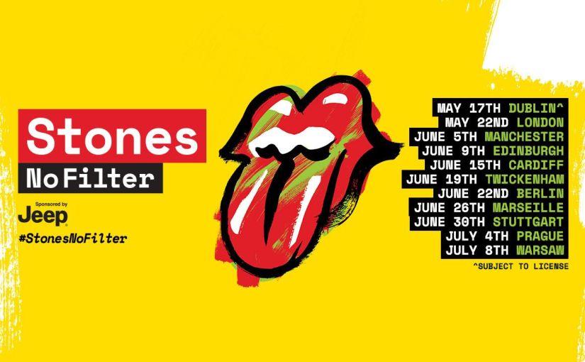 Rolling Stones set to tourUK