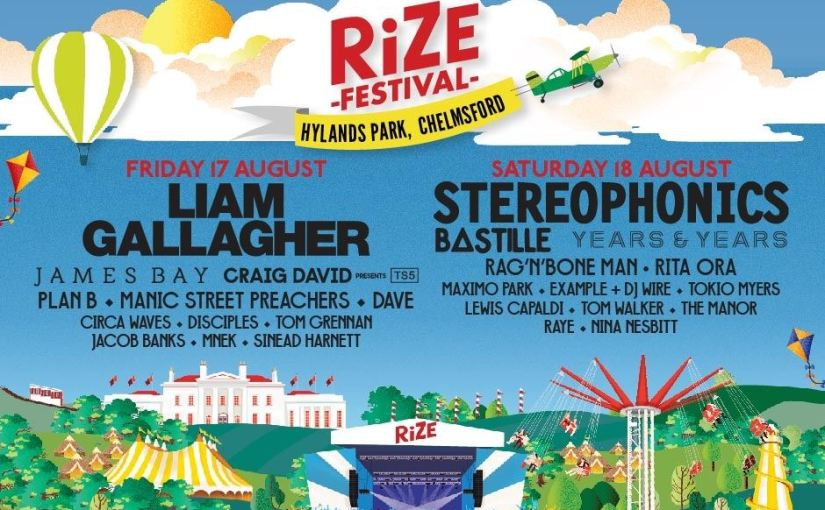 Rize Festivals has announced the first names for its 2018 line-up