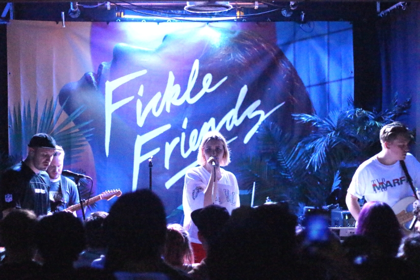 LIVE REVIEW: Fickle Friends + Swimming Girls + The Islas at Waterfront Studio