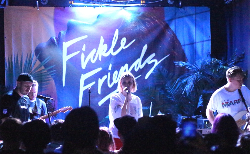 LIVE REVIEW: Fickle Friends + Swimming Girls + The Islas at WaterfrontStudio