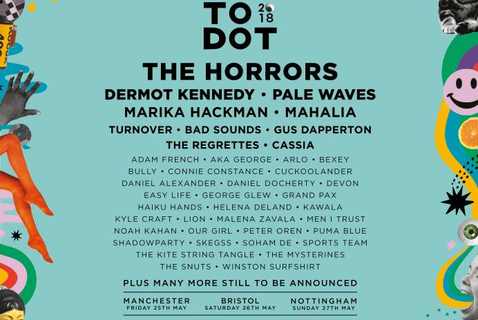Dot To Dot have announced the first names for its 2018line-up