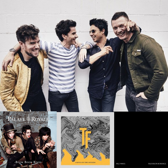 Stereophonics, Palaye Royale, The Faim and Pale Waves all feature on this week's NoisyPlaylist!