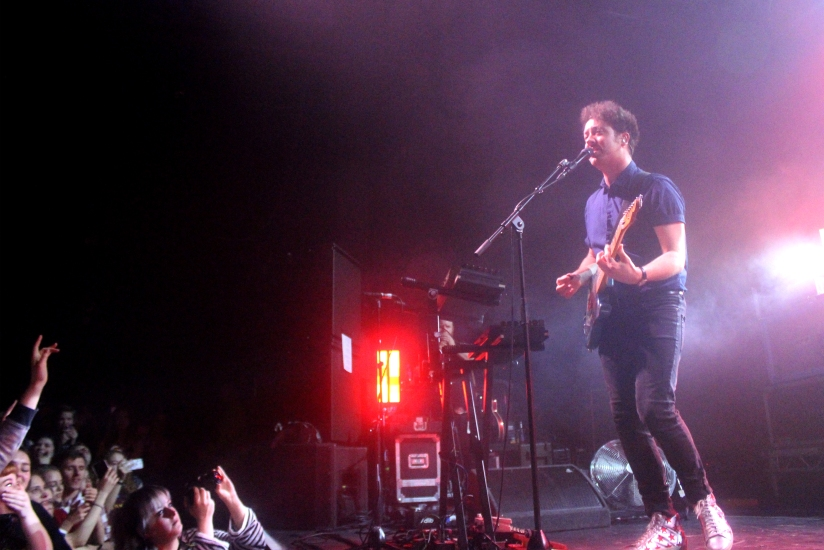 LIVE REVIEW: The Wombats + The Night Café + BLOXX at UEA