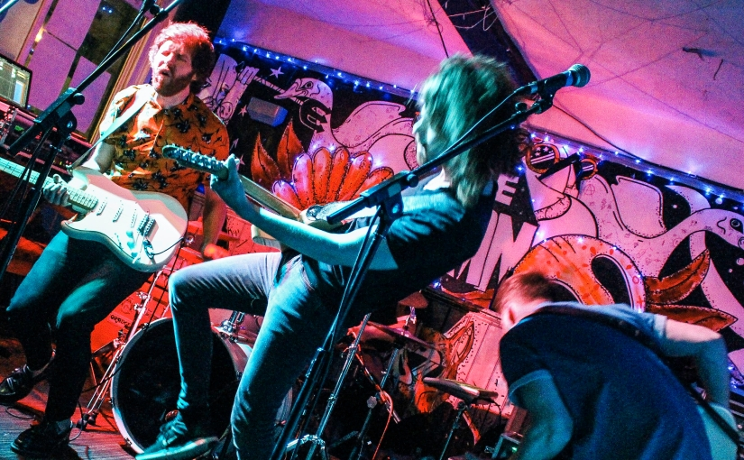 LIVE REVIEW: The Baskervilles + Brixton Alley + Saving Scarlett at TheSwan